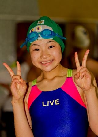 Swimmer from WTG 2011, Göteborg, Sweden (Photo courtesy of www.wtgf.org)
