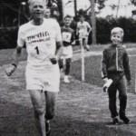 Hennie Muller and grandson