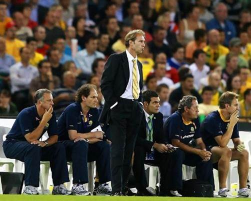 Socceroos bench