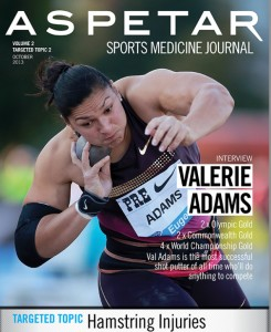 Valerie Adams Aspetar cover