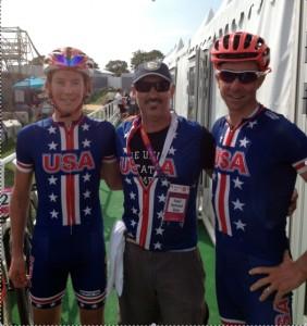Bernard with Team USA