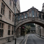 Hertford Bridge, also known as the Bridge of Sighs, links two parts of Hertford College at Oxford University and crosses New College Lane