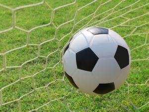 soccer-ball in net