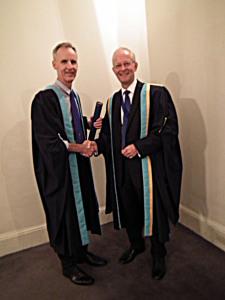 Prof Karim Khan and Dr Roderick Jaques