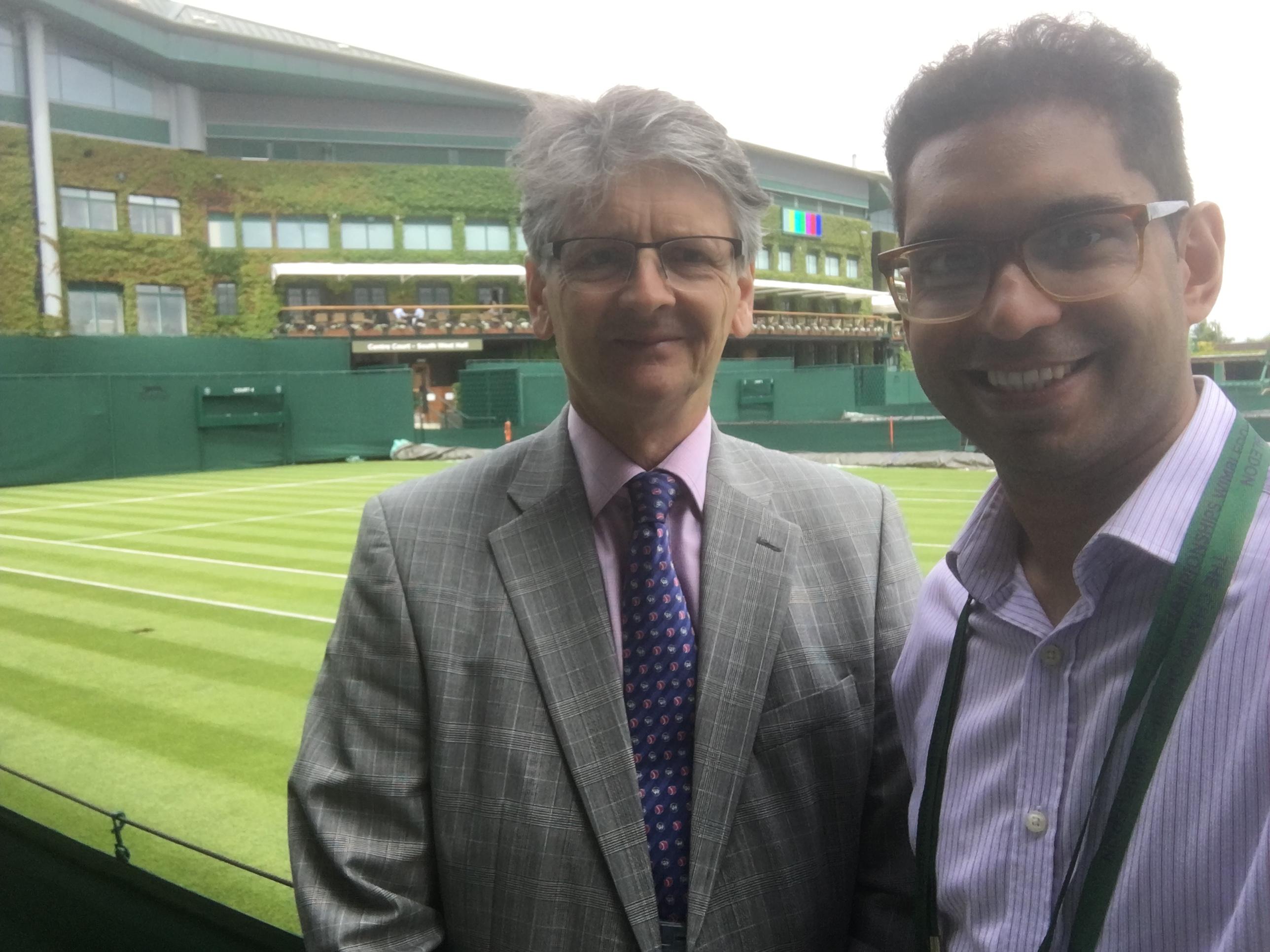 Wimbledon 2016 selfie