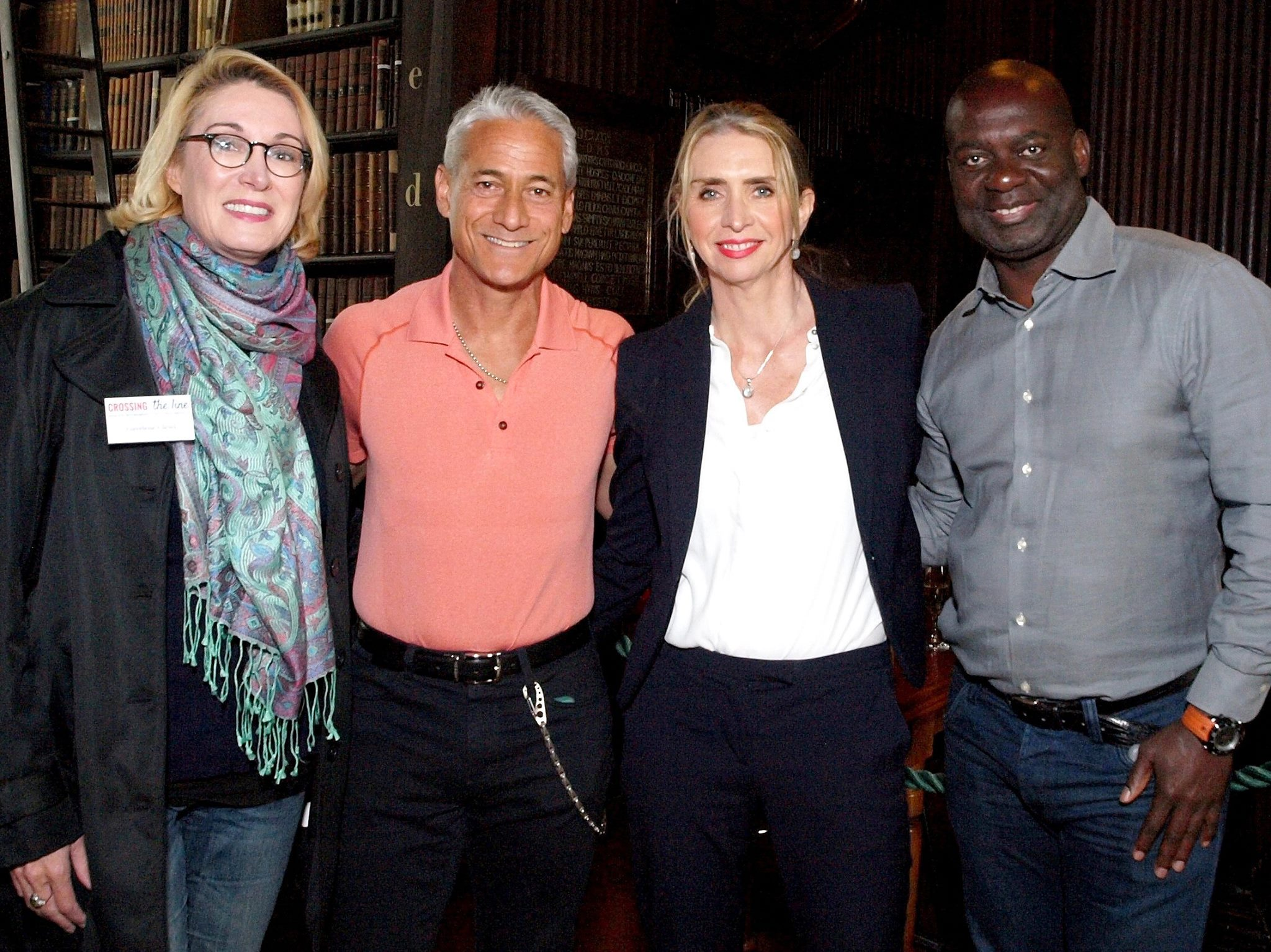 Gaylene Clews (psychologist) Greg Louganis (diver, Olympic Champion, USA), Fiona Wilson (physiotherapist) Ben Johnson (100m runner, Olympian, Canada)