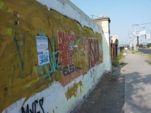 A mural in Puente Alto, Santiago.