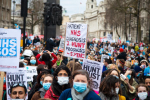 London: Vivienne Westwood and Vanessa Redgrave support junior doctors