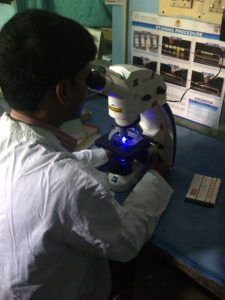 Public hospital microscopy center