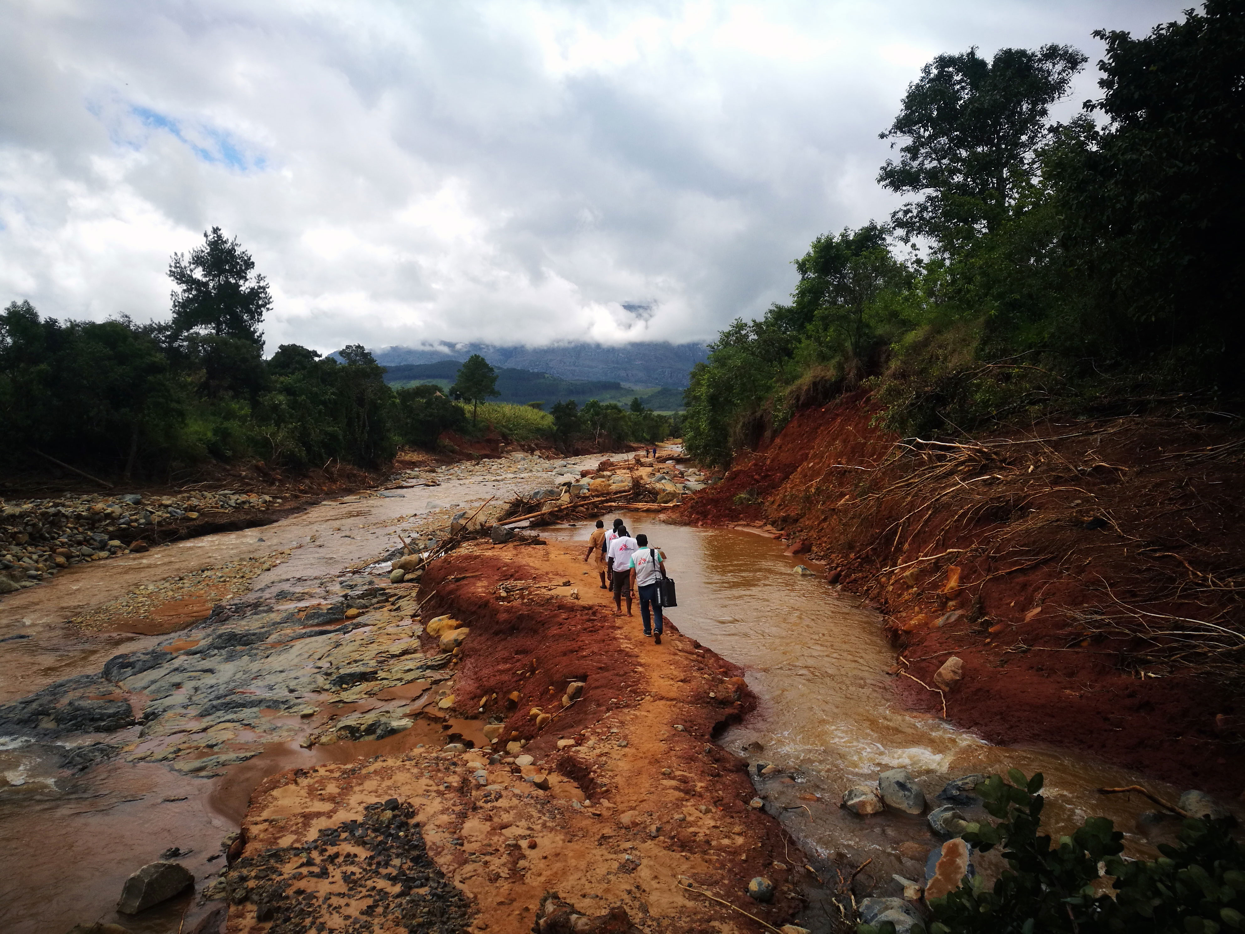 Marthe Frieden: The aftermath of Cyclone Idai—building