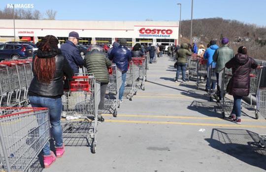 US food queues.'