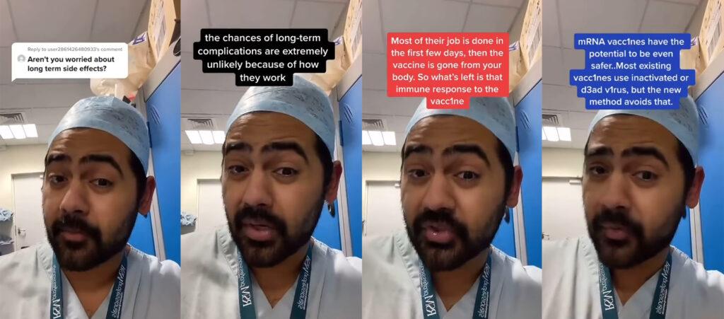 Dr Karan Rajan - vaccine side effects