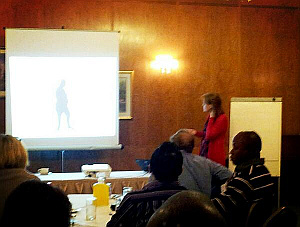 Professor Melanie Davies speaking at BMJ / UoL Diabetes Diploma lectures