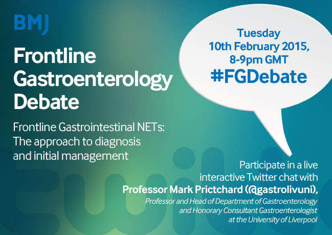 Frontline Gastrointestinal NETs: The approach to diagnosis