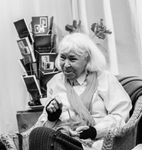 ©D. Carpenter-Latiri portrait of Nawal El-Saadawi UK 2015