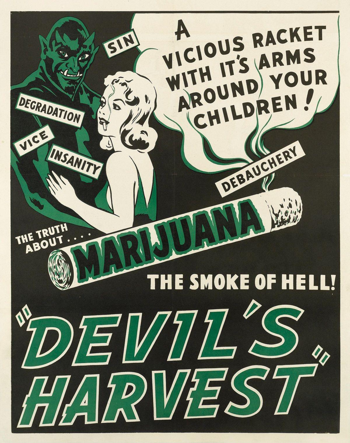 Film poster for Devil's Harvest
