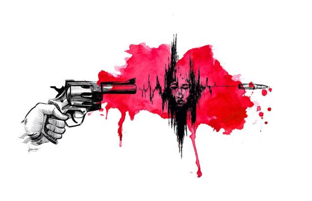 Gun Violence. By Jordi Lutsky
