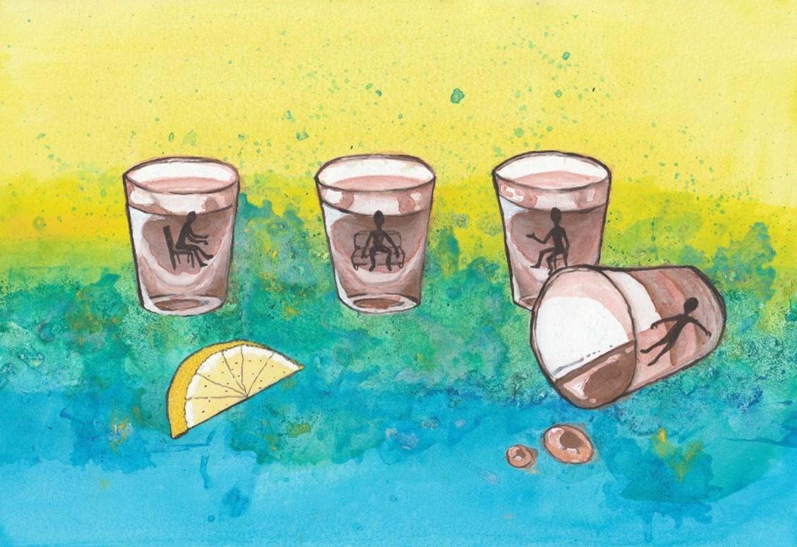 Pain hangover analogy