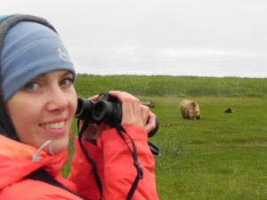 Dr Jansen meets the bears of Kodiak Island