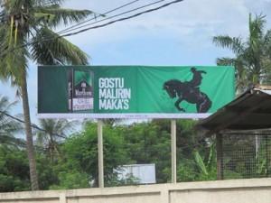 Marlboro Black Menthol billboard in Timor-Leste, 2013  Photo: George Darroch