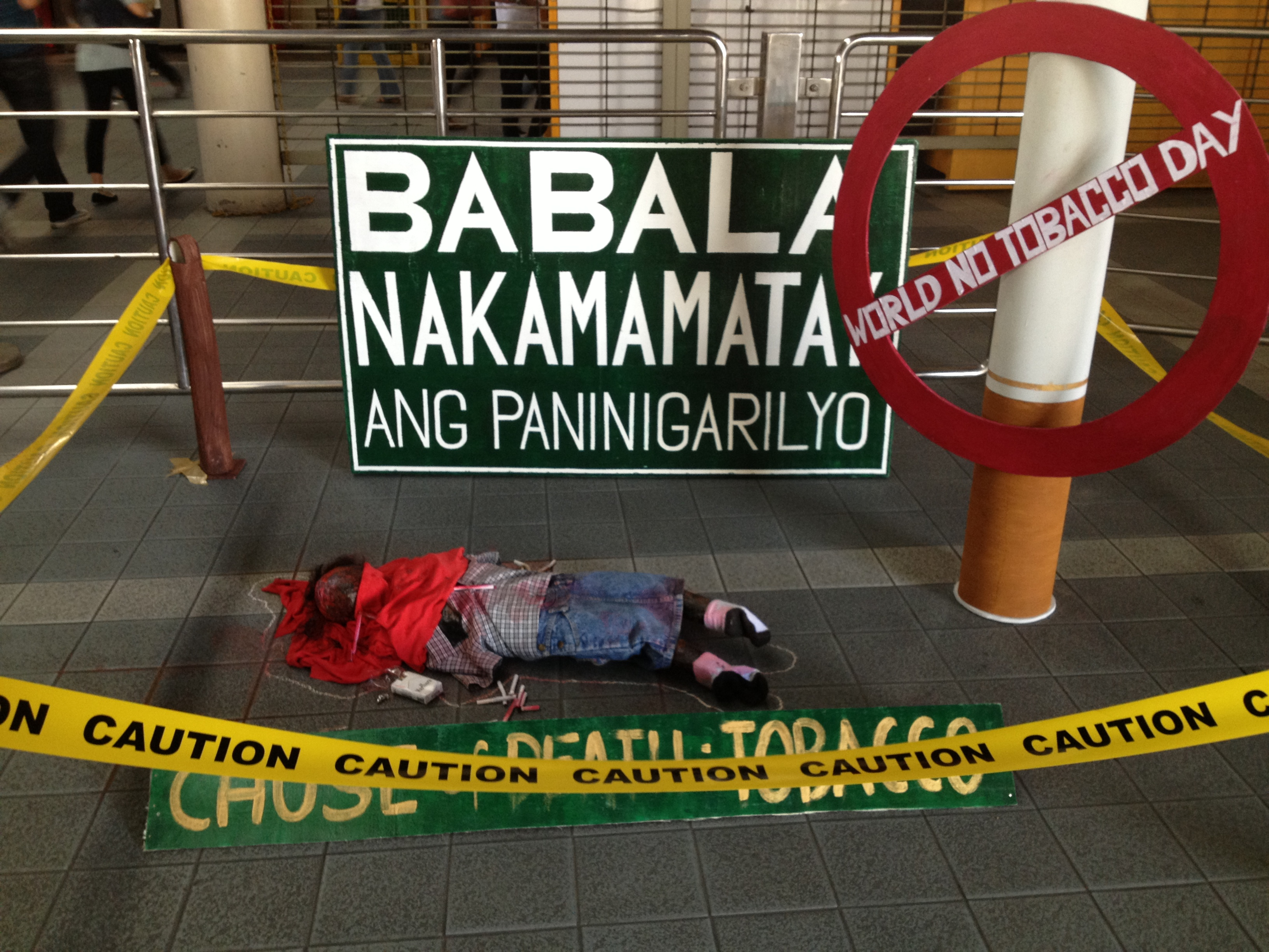 Credit Report Companies >> The Philippines: Tobacco 'crime scenes' pop up in the metro on World No Tobacco Day | Blog ...