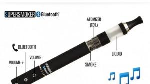 Bluetooth E-cigarette