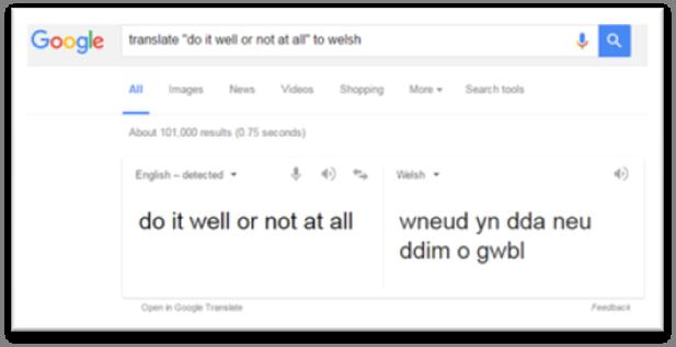 Google Understands Language